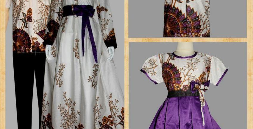 Baju Batik Gamis Sarimbit Dengan Berbagai Variasi dan Tema Menarik yang Populer